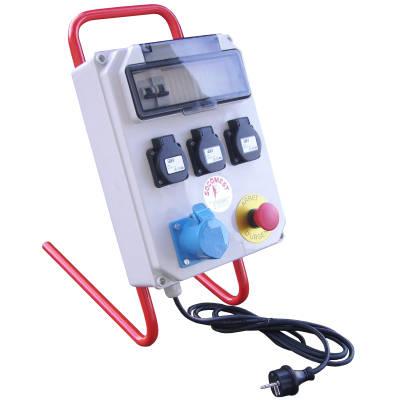 Coffret de distribution électrique par Socomest, matériel électrotechnique pour industrie, SDIS pompiers, réseaux publics d'énergie et serrurerie - Brumath Strasbourg Alsace Grand-Est