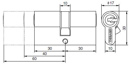 Cylindres profilés - 2 entrées