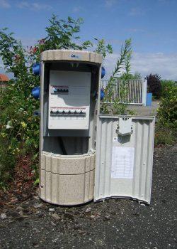 Borne électrique amovible ELSA par Socomest Brumath Strasbourg Alsace Grand-Est